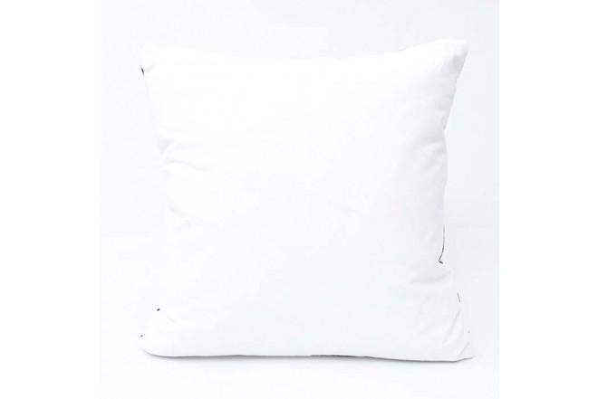 Cojín K-LINE 45 x 45 Estampado Blanco/Negro 100