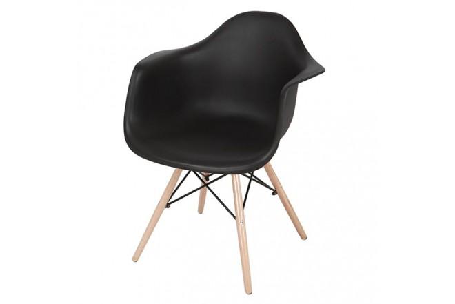 Silla de Diseño TUKASA Negra 80048G