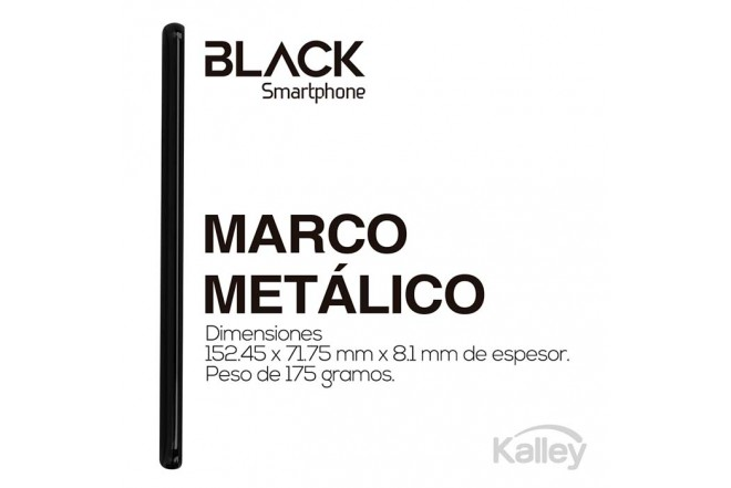 Celular KALLEY Black DS 4G Negro