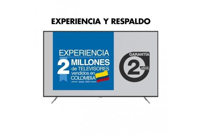 "TV KALLEY 65""pulgadas 164 centimetros LED 4K UHD F Smart TV con Bluetooth 4"