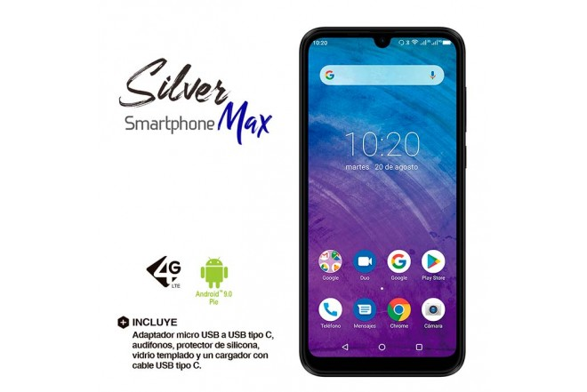 Celular KALLEY Silver MAX DS 4G Negro5