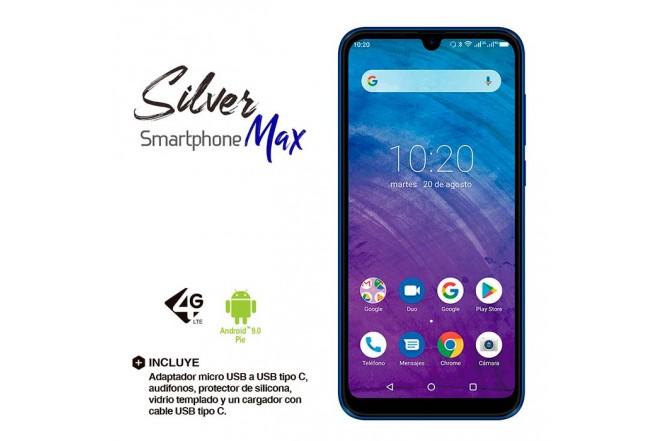 Celular KALLEY Silver MAX DS 4G Azul4