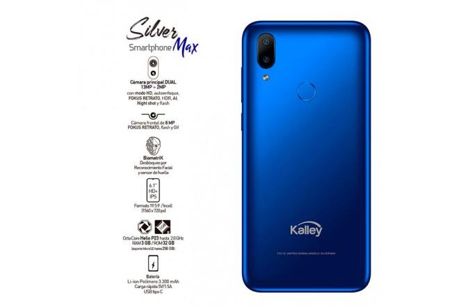 Celular KALLEY Silver MAX DS 4G Azul6