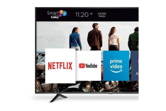 """TV KALLEY 50"""" Pulgadas 126 cm K-LED50UHDSNBT 4K-UHD Plano Smart TV5"""