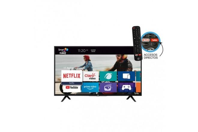 """TV KALLEY 32"""" Pulgadas 81 cm K-LED32HDSNBT HD Plano Smart TV5"""