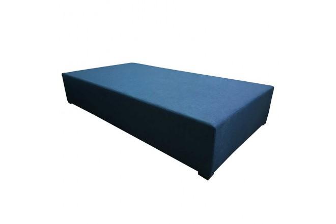 Base Cama TUKASA Nido Sencilla 100 x 190 Tela Azul