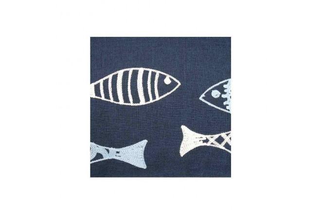 Cojín KLINE 45 x 45 cm Pescado Azul3
