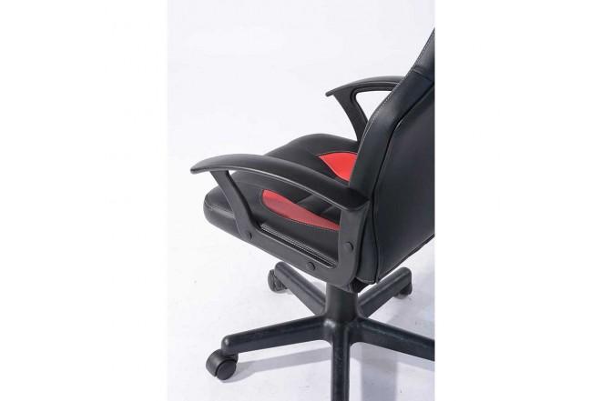 Silla Gamer Soni Red Handrail TUKASA Negra/Roja