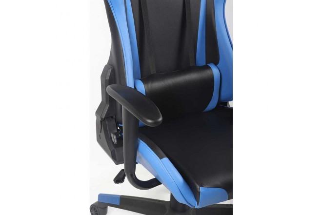 Silla Gamer Cabrera TuKasa Azul/Negra
