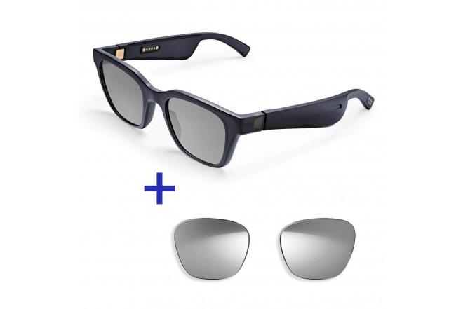 Gafas de Sol con Audio BOSE Frame Alto M/L + Lentes BOSE Alto M/L Plateado GRATIS9