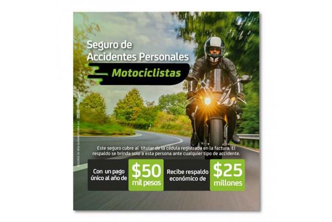 Seguro de Accidentes Personales Motociclista 1