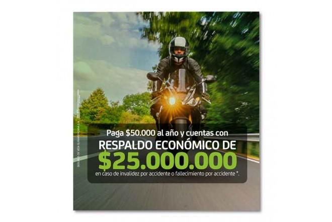 Seguro de Accidentes Personales Motociclista 2