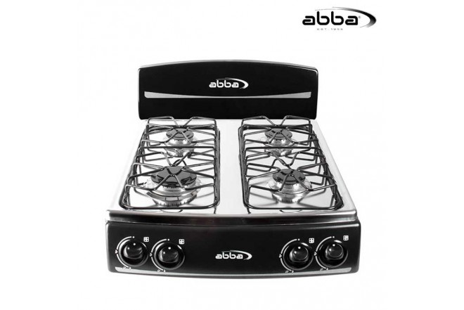 Estufa de Mesa ABBA 4P SG4005N N Gas Natural Color Negro