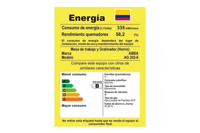 Estufa Abba AG202-6 HT60cmEAGP 271213
