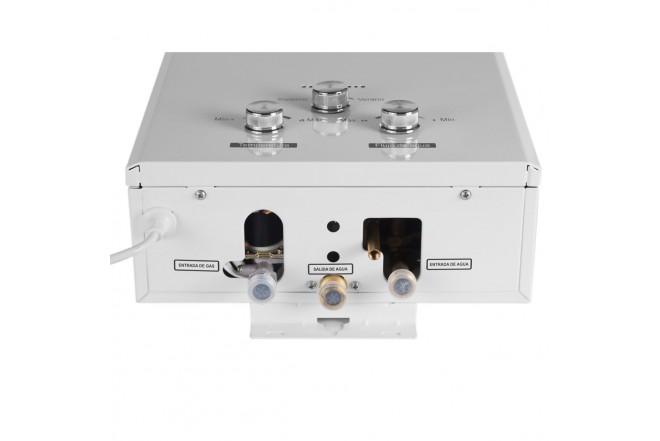 Calentador de Paso ABBA BITF-10QF3 |10 Litros Tiro Forzado Gas Natural Seguridad por Ionización