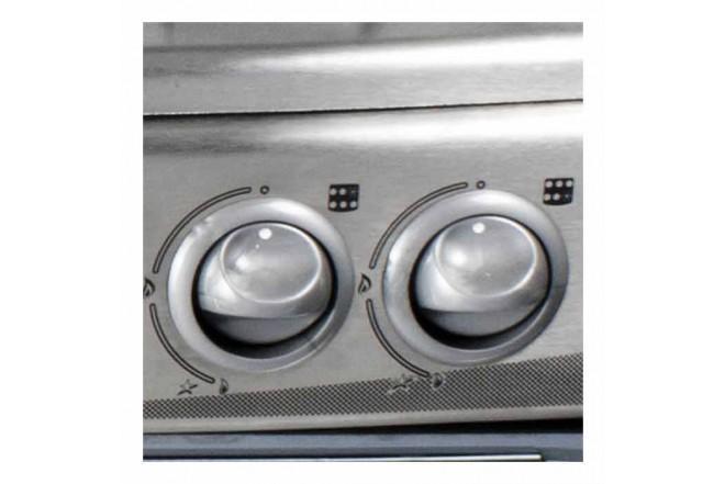 Estufa de Piso ABBA 30 RG 802-4 PL Inox9