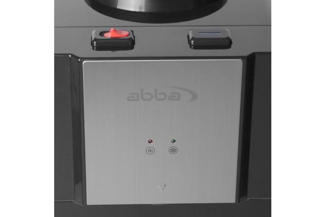Dispensador de Agua ABBA DA1637SB Agua Fría/Caliente con Nevera 20Lt Negro