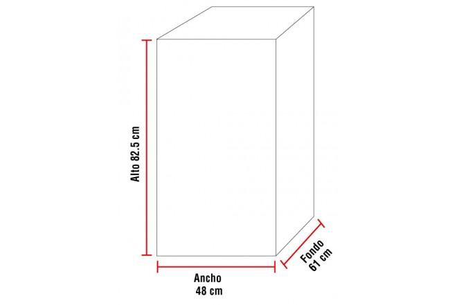 Nevera ABBA 130 Litros RL-5 Blanca