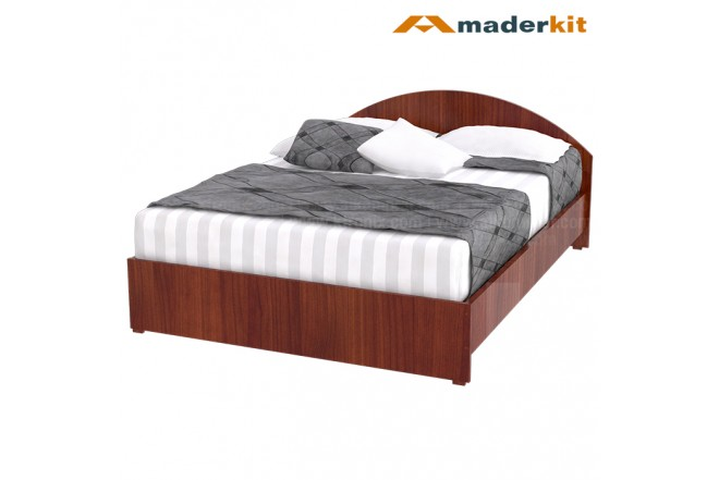 Cama Doble MADERKIT Cedro Cresent 00772-CA-C-R
