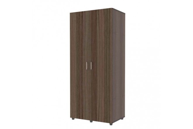 Armario 80cm MADERKIT Puertas Abatibles Roble