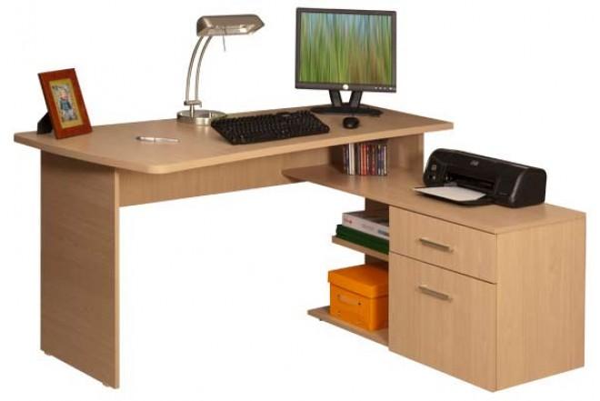 escritorio en l moduart l nea pretta 43032 macchiato