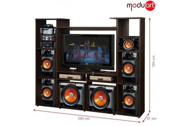 Centro de Audio MODUART Wengue 19029-04