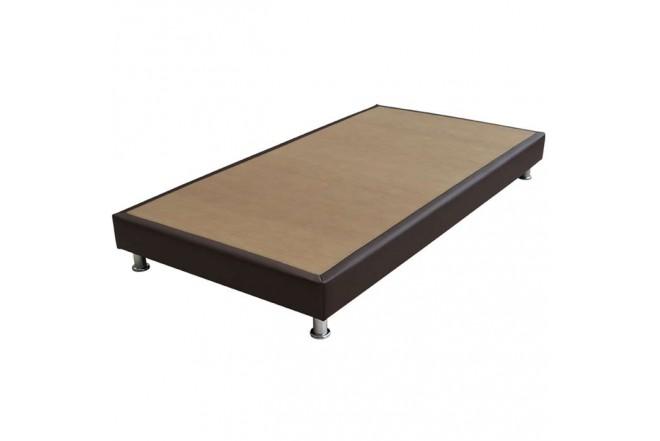 KOMBO SPRING: Colchón Resortado Sencillo SPRING Rest 100 x 190 cm + Base cama Decco