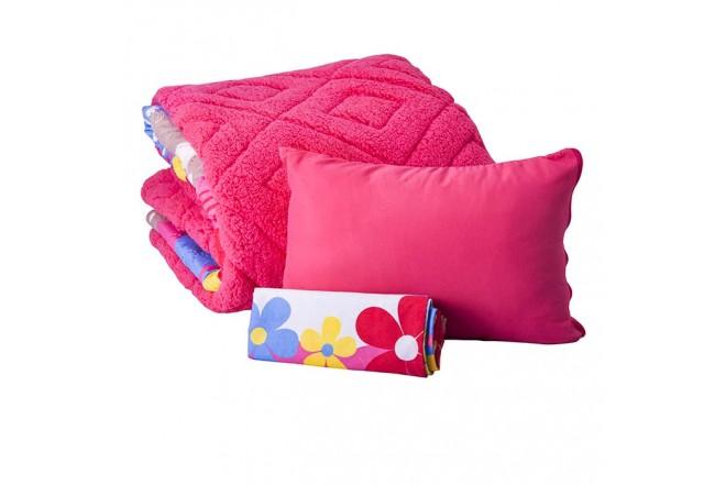Comforter Estampado KAMUCHY Doble Ovejero Coral