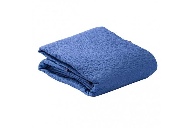 Cubrecama Extradoble KAMUCHY Laberinto Azul