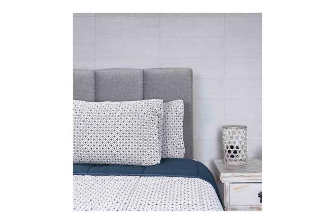 Comforter KAMUCHY acolchado circulo doble1