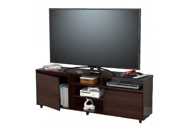 "Mesa para TV 60"" INVAL 14619 Wengue"