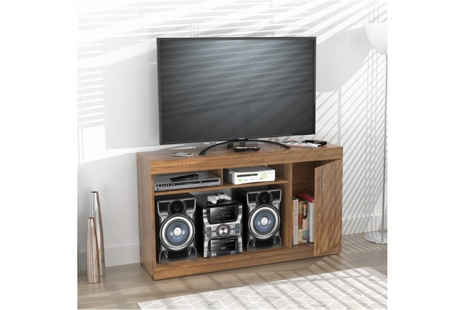 """Mesa para TV 50"""" INVAL 7919 Amaretto"""