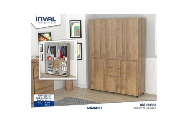 Closet INVAL 1.50 cm Granada Amaretto
