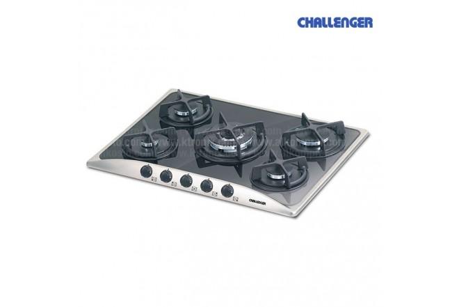 Cubierta CHALLENGER 68 SCI7050 5 Puestos Gas Natural Negra