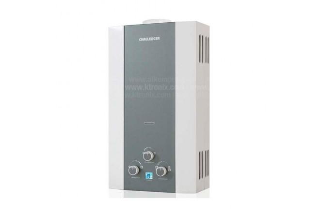 Calentador de Paso CHALLENGER 10Lt Tiro Natural 7102 GN1
