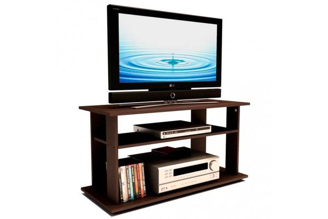 """Mesa para TV 42"""" PRACTIMAC E1 Wengue"""