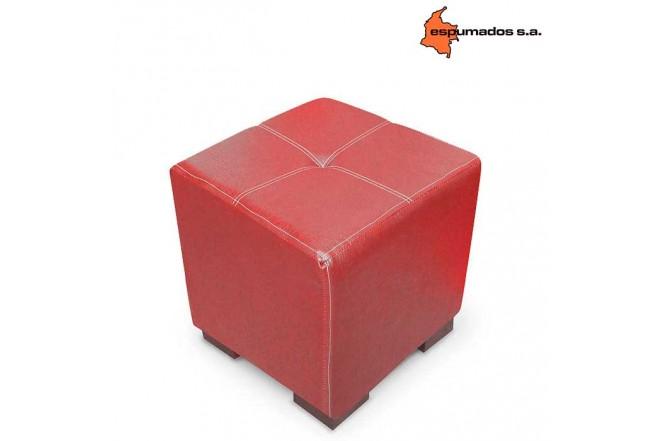 Puff ESPUMADOS Coralina Jazz Rojo