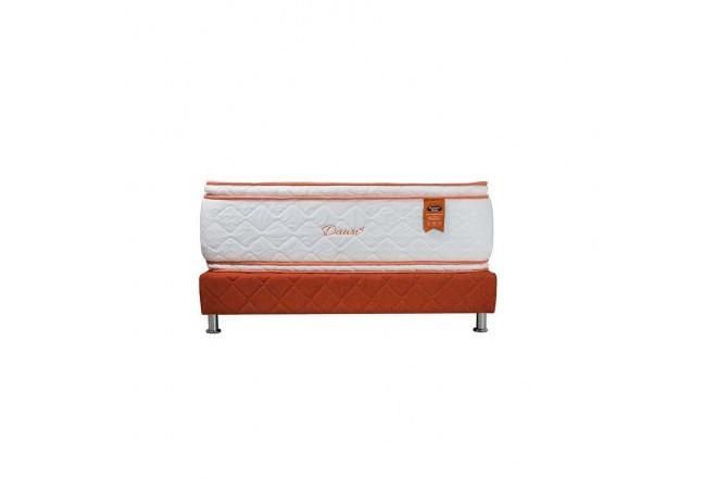 KOMBO ROMANCE RELAX: Colchón Espumado King Premium Dawn 200 x 200 cm