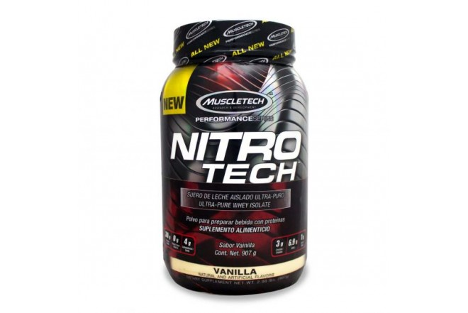 Proteína MUSCLETECH NITROTECH PERFORMANCE SERIES X 2libras vainilla 1