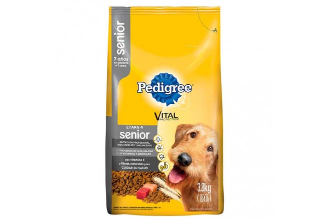 PEDIGREE Vital Senior Etapa 4 3.8Kg