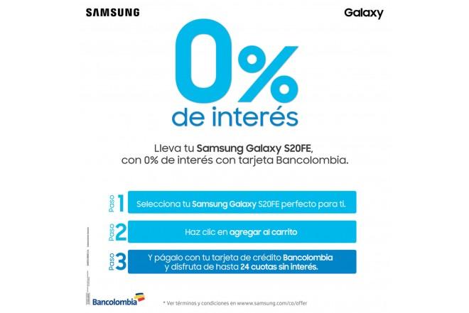 Celular SAMSUNG Galaxy S20 FE 128GB Naranja +UV STERILIZER + Silicone Cover Azul-2