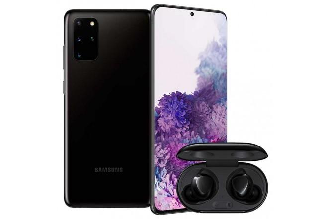Combo Celular SAMSUNG Galaxy  S20 Plus 128GB Negro + Buds Plus Negro1