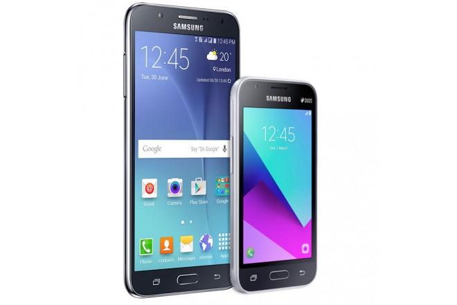 Celular libre SAMSUNG J7 LTE Negro + Celular Libre SAMSUNG J1 Mini Prime Negro