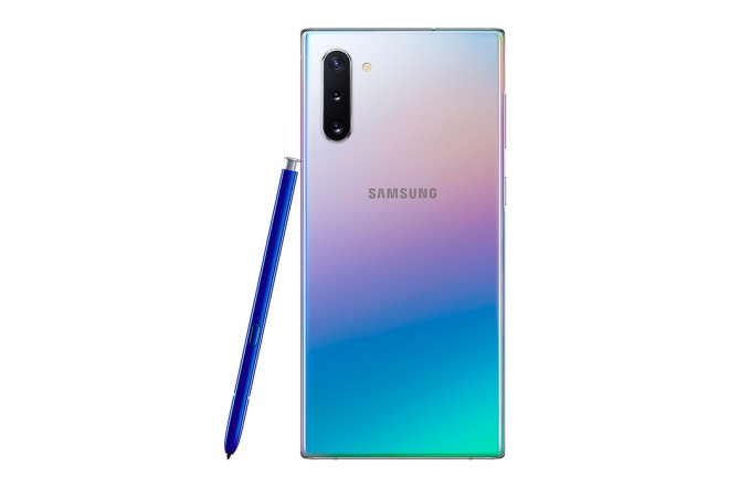 Celular SAMSUNG Galaxy Note 10 - 256 GB  Plateado + Buds + Cover6