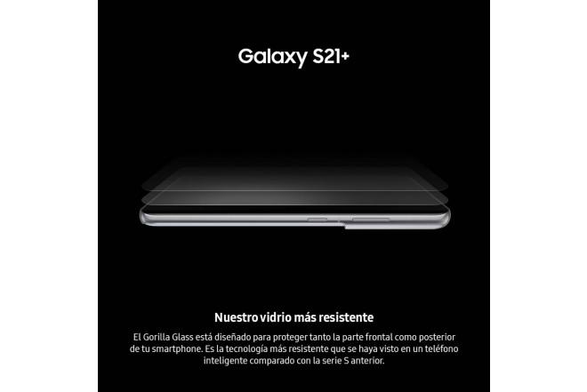 Combo Celular SAMSUNG Galaxy S21 Plus 256GB Plateado + Galaxy Smart TAG-5