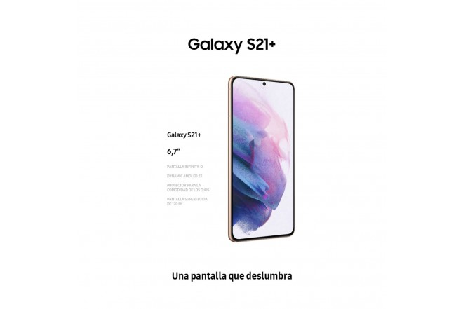 Combo Celular SAMSUNG Galaxy S21 Plus 256GB Plateado + Galaxy Smart TAG-7