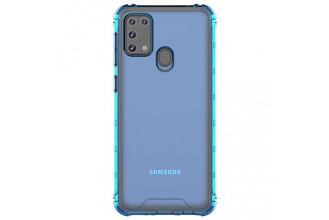 Celular SAMSUNG Galaxy M31  128GB Negro + Cover Azul2