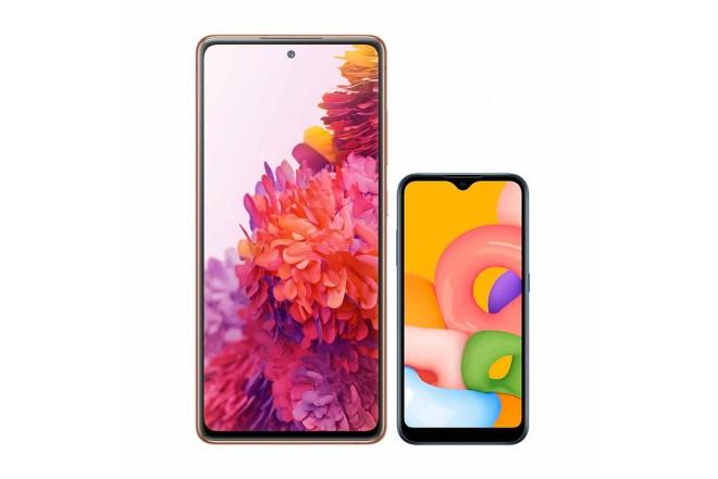 SAMSUNG Galaxy S20 FE 128GB Naranja-1