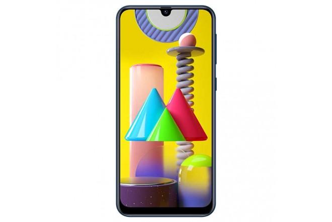 Celular SAMSUNG Galaxy M31  128GB Azul + Cover Negro3