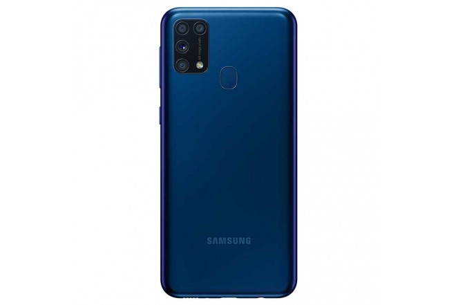 Celular SAMSUNG Galaxy M31  128GB Azul + Cover Negro6